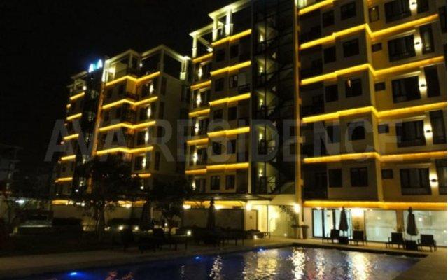 Отель Ava Residences Ho Chi Minh City вид на фасад