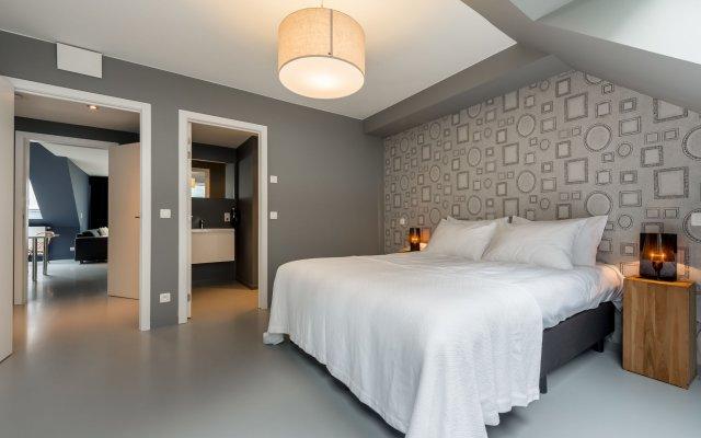 Отель Smartflats Design - Postiers Бельгия, Брюссель - отзывы, цены и фото номеров - забронировать отель Smartflats Design - Postiers онлайн комната для гостей