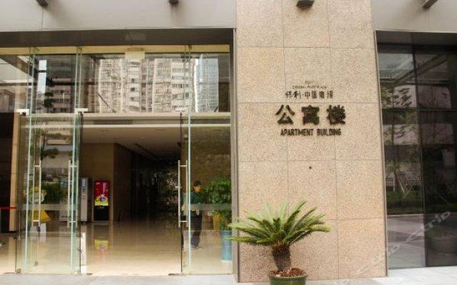 Yiside Poly Zhonghui Plaza Hotel вид на фасад