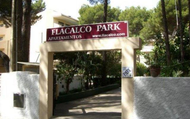 Отель Flacalco Park вид на фасад