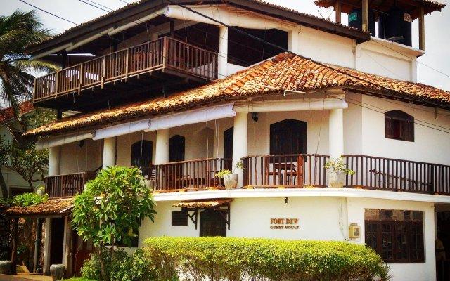Отель Fort Dew Villa Шри-Ланка, Галле - отзывы, цены и фото номеров - забронировать отель Fort Dew Villa онлайн вид на фасад
