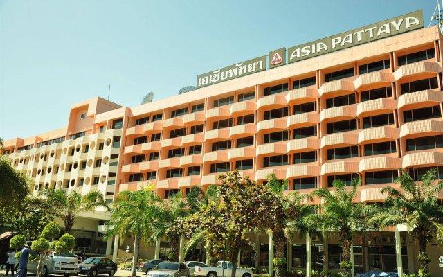 Отель Asia Pattaya Hotel Таиланд, Паттайя - отзывы, цены и фото номеров - забронировать отель Asia Pattaya Hotel онлайн вид на фасад