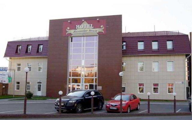 Гостиница Александр Хаус в Барнауле 1 отзыв об отеле, цены и фото номеров - забронировать гостиницу Александр Хаус онлайн Барнаул вид на фасад