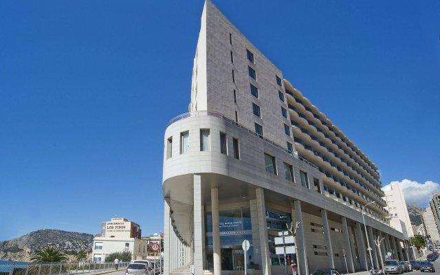 Отель RealRent Bahía de Calpe вид на фасад