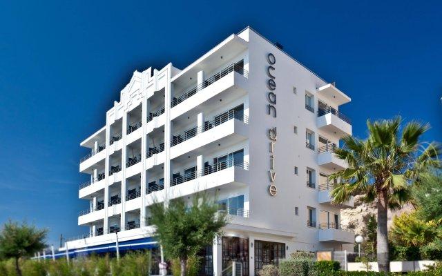 Отель OD Ocean Drive вид на фасад