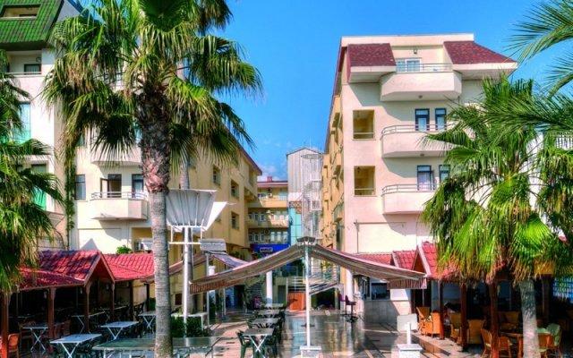 Отель Dragos Beach Кемер вид на фасад
