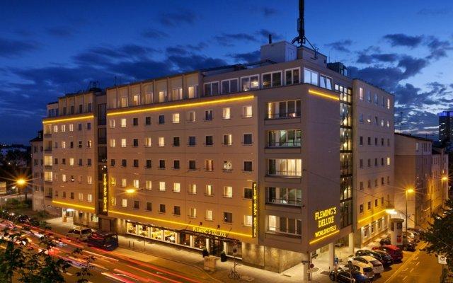 Flemings Hotel Frankfurt Main-Riverside вид на фасад
