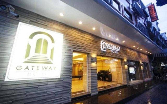 Gateway Hotel Бангкок вид на фасад