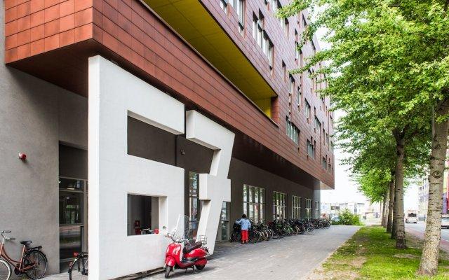 Апартаменты Houthavens Serviced Apartments вид на фасад