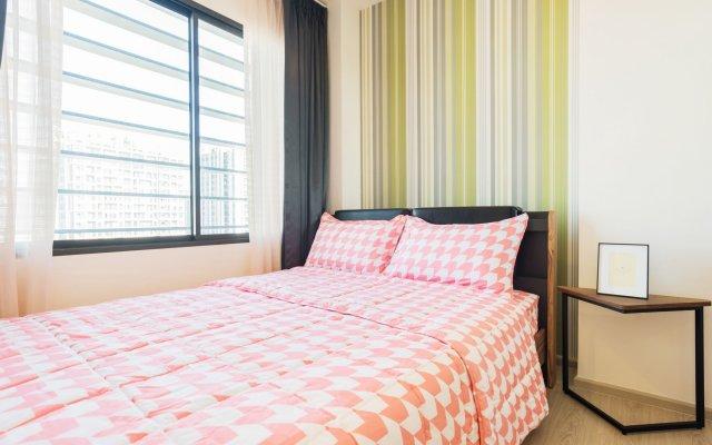 Отель Rhythm Asoke 2 By Favstay Бангкок комната для гостей