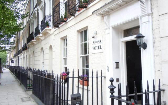 Arriva Hotel вид на фасад