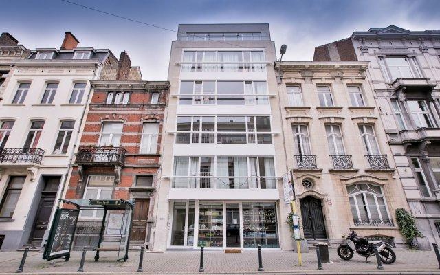 Апартаменты Louise Vleurgat Apartments Брюссель вид на фасад