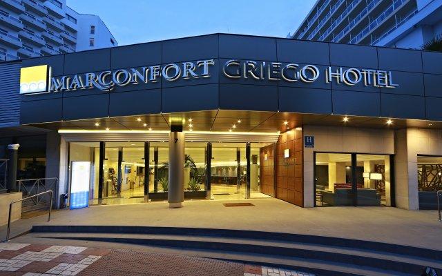 Отель Marconfort Griego Hotel - Все включено Испания, Торремолинос - отзывы, цены и фото номеров - забронировать отель Marconfort Griego Hotel - Все включено онлайн вид на фасад
