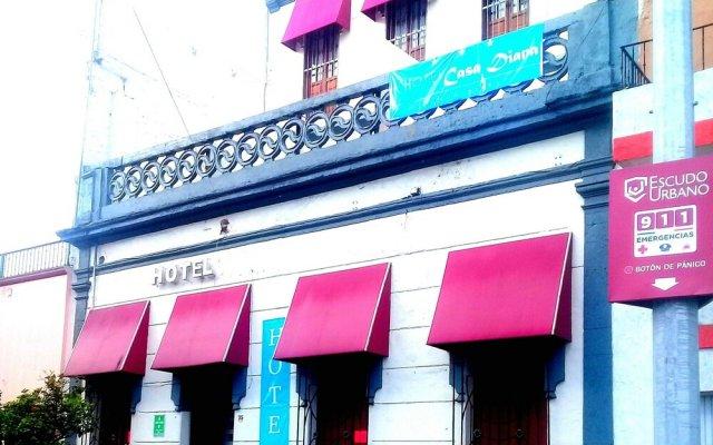 Hotel Casa Diana вид на фасад