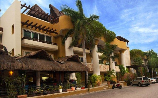 Отель Pueblito Escondido Luxury Condohotel вид на фасад