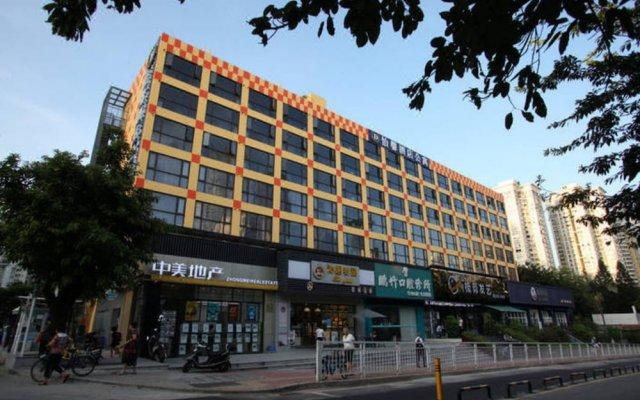 Отель Yi Xin Aparthotel Китай, Шэньчжэнь - отзывы, цены и фото номеров - забронировать отель Yi Xin Aparthotel онлайн вид на фасад