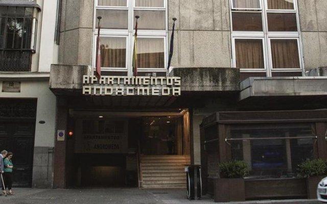Отель BlueSense Madrid Génova вид на фасад