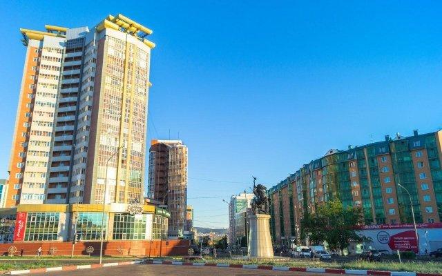 Гостиница NOMADS hostel & apartments в Улан-Удэ 5 отзывов об отеле, цены и фото номеров - забронировать гостиницу NOMADS hostel & apartments онлайн вид на фасад