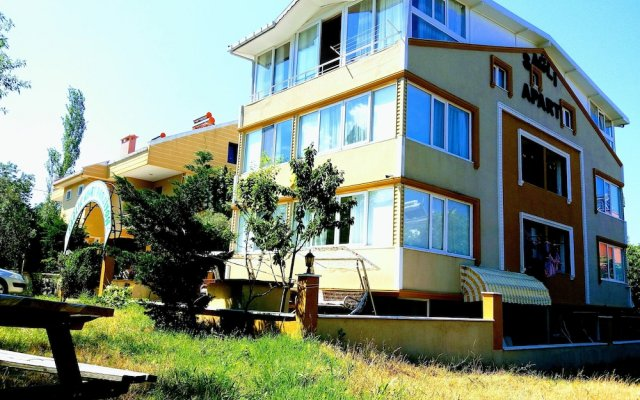 Отель Saglik Apart Pansiyon вид на фасад