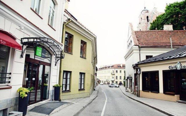 Отель City Hotels Rūdninkai Литва, Вильнюс - отзывы, цены и фото номеров - забронировать отель City Hotels Rūdninkai онлайн вид на фасад