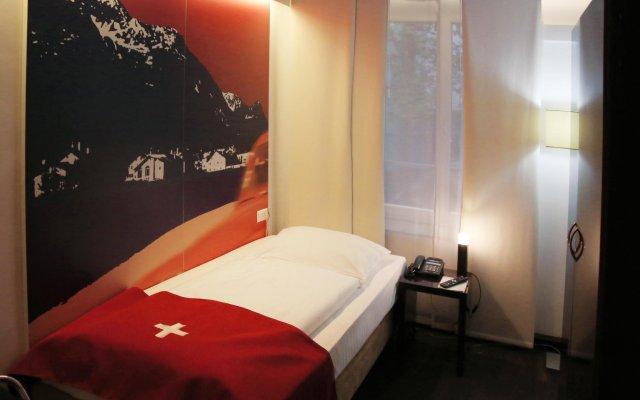 Отель Helvetia Hotel Munich City Center Германия, Мюнхен - 2 отзыва об отеле, цены и фото номеров - забронировать отель Helvetia Hotel Munich City Center онлайн комната для гостей