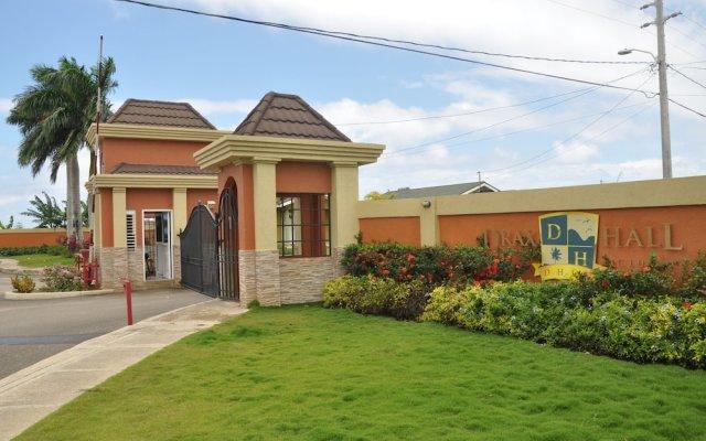 Апартаменты Ocho Rios Palm View Villa And Apartments Очо-Риос вид на фасад