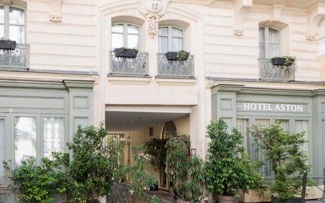 Отель Aston Франция, Париж - 7 отзывов об отеле, цены и фото номеров - забронировать отель Aston онлайн вид на фасад