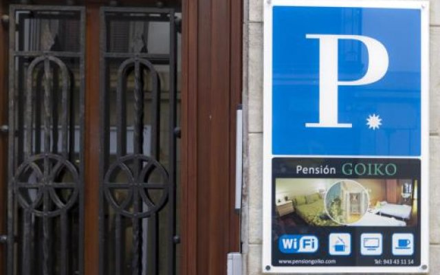 Отель Pensión Goiko Испания, Сан-Себастьян - отзывы, цены и фото номеров - забронировать отель Pensión Goiko онлайн вид на фасад