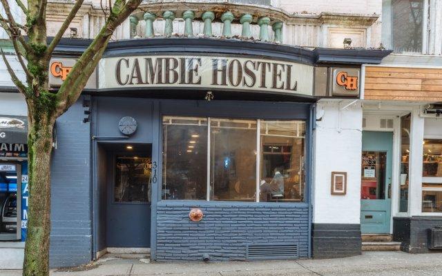 Отель The Cambie Hostel Gastown Канада, Ванкувер - отзывы, цены и фото номеров - забронировать отель The Cambie Hostel Gastown онлайн вид на фасад