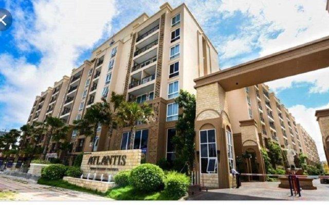 Отель Atlantis Condo Pattaya by Panissara Таиланд, Паттайя - отзывы, цены и фото номеров - забронировать отель Atlantis Condo Pattaya by Panissara онлайн вид на фасад
