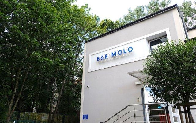 Отель B&B Molo Sopot вид на фасад