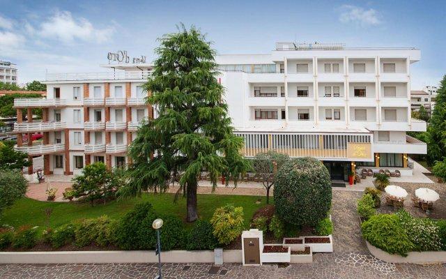 Отель Vena D'Oro Италия, Абано-Терме - отзывы, цены и фото номеров - забронировать отель Vena D'Oro онлайн вид на фасад