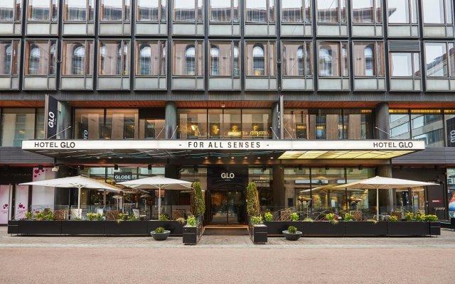 GLO Hotel Helsinki Kluuvi вид на фасад
