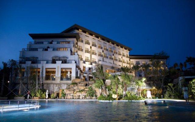 Отель Golden Bay Resort Сямынь вид на фасад