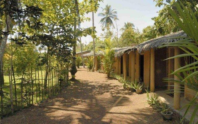 Отель Dalmanuta Gardens Шри-Ланка, Бентота - отзывы, цены и фото номеров - забронировать отель Dalmanuta Gardens онлайн вид на фасад