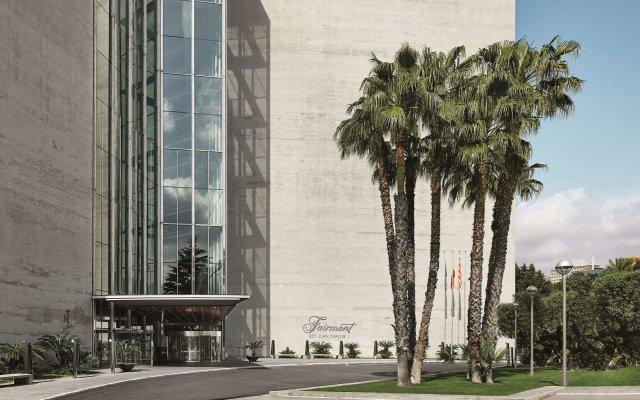 Отель Fairmont Rey Juan Carlos I Барселона вид на фасад