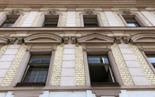 Hotel Bayer Пльзень вид на фасад
