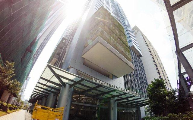 Отель Summer Suites Residences by Subhome Малайзия, Куала-Лумпур - отзывы, цены и фото номеров - забронировать отель Summer Suites Residences by Subhome онлайн вид на фасад