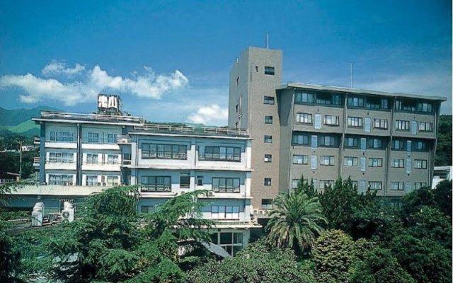 Отель ONIYAMA Беппу вид на фасад