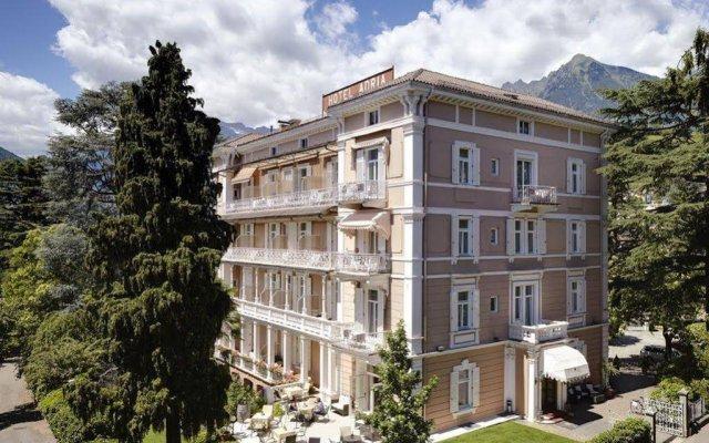 Hotel Adria Меран вид на фасад