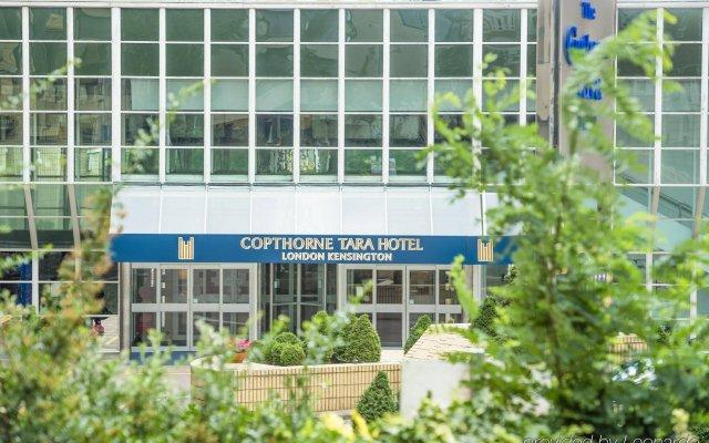 Copthorne Tara Hotel London Kensington вид на фасад