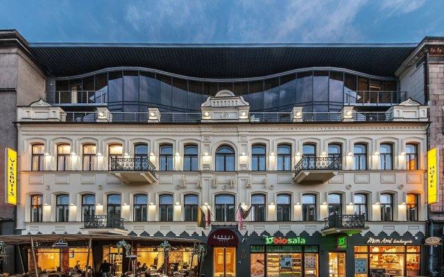 Отель Kaunas Литва, Каунас - 11 отзывов об отеле, цены и фото номеров - забронировать отель Kaunas онлайн вид на фасад