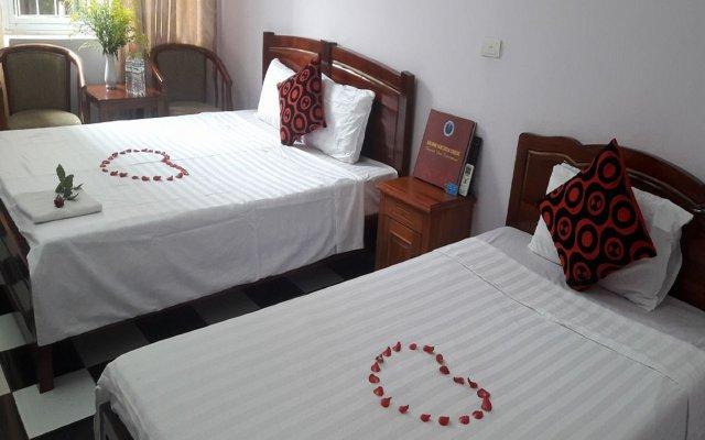 Hanoi Bluestar Hostel 2 Ханой комната для гостей