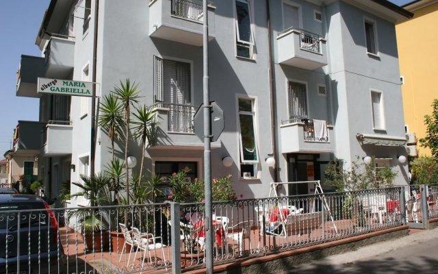 Отель Albergo Maria Gabriella Римини вид на фасад