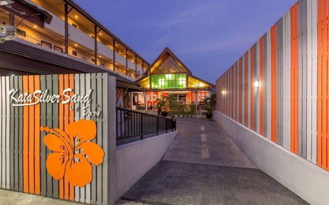 Отель Kata Silver Sand Hotel Таиланд, Пхукет - отзывы, цены и фото номеров - забронировать отель Kata Silver Sand Hotel онлайн вид на фасад