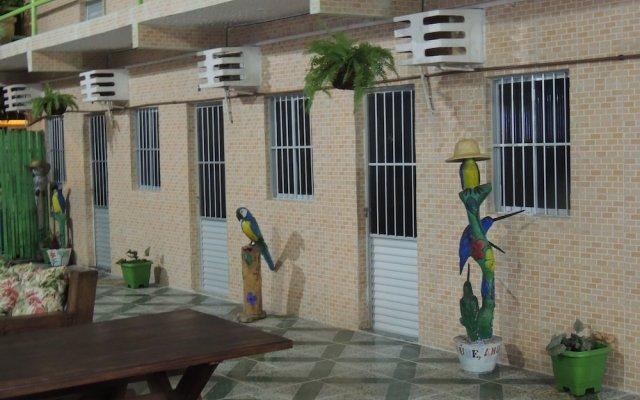 Отель Pousada Esperança вид на фасад