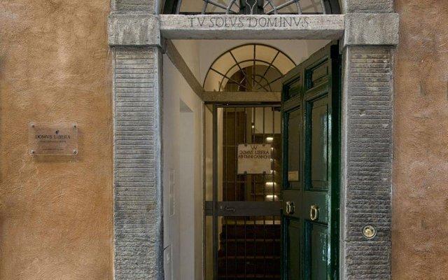 Отель Domus Libera Рим вид на фасад