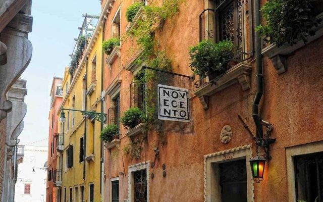 Отель Novecento Boutique Hotel Италия, Венеция - отзывы, цены и фото номеров - забронировать отель Novecento Boutique Hotel онлайн вид на фасад