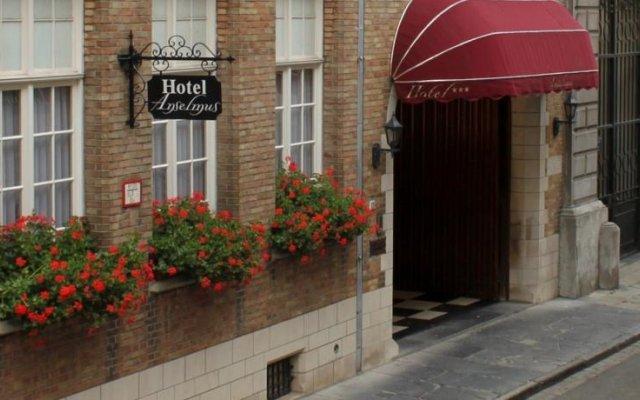 Отель Anselmus Hotel Бельгия, Брюгге - отзывы, цены и фото номеров - забронировать отель Anselmus Hotel онлайн вид на фасад