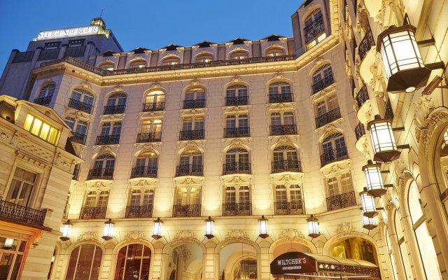 Отель Steigenberger Wiltcher's вид на фасад